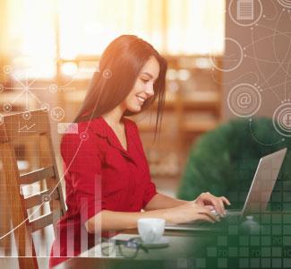 Aprovecha las  ventajas de la banca electrónica